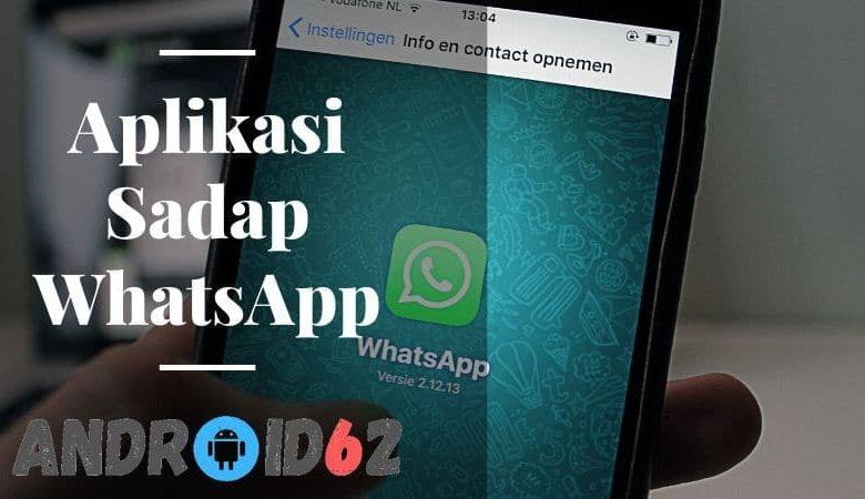 Aplikasi Sadap WhatsApp Terbaik