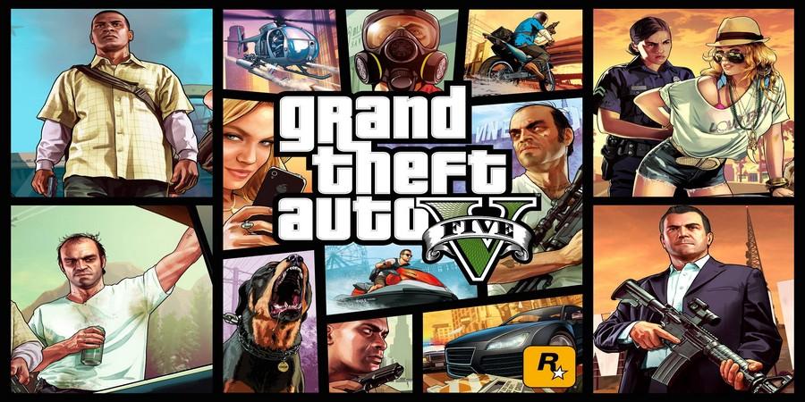 game petualangan offline terbaik Grand Theft Auto 5
