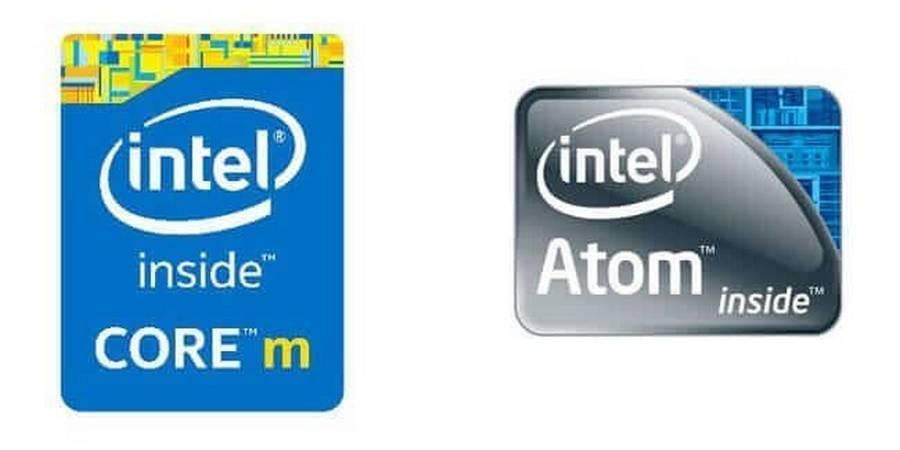Intel Atom and Core M