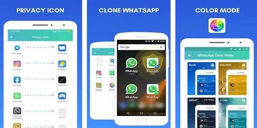 Clone App - Social Spy WhatsApp - Cara Membajak WA (WhatsApp)