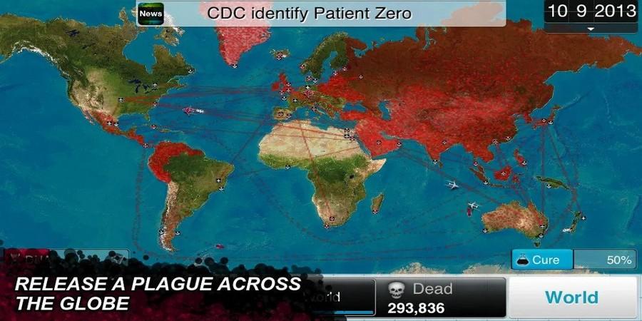 Game Offline Terbaik Android: Plague Inc.