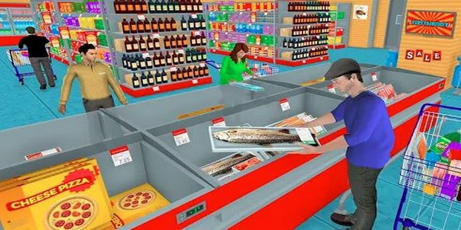 Grocery Shopping Mall Family Game